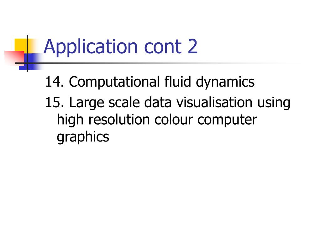 Application cont 2