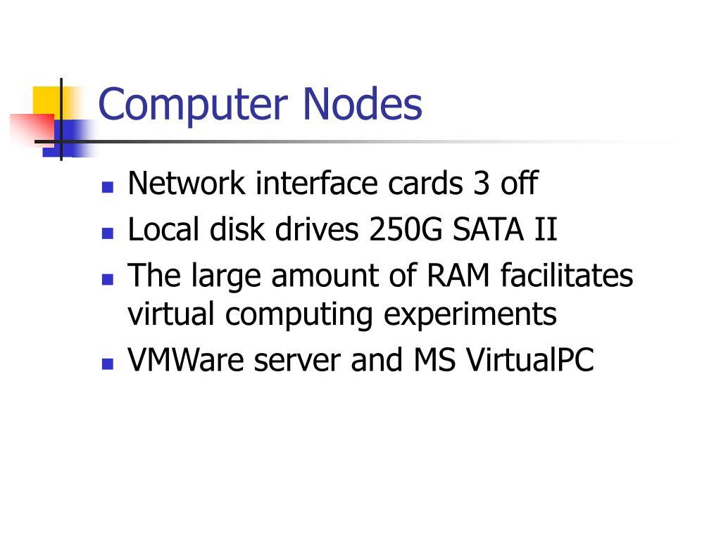 Computer Nodes
