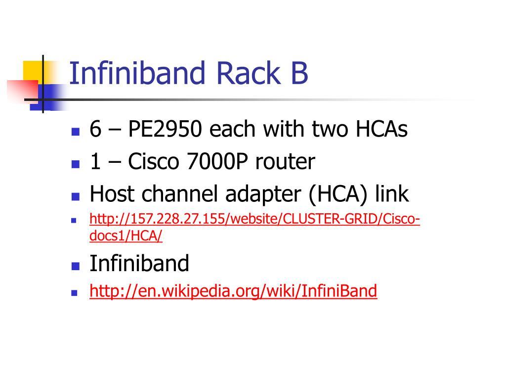 Infiniband Rack B