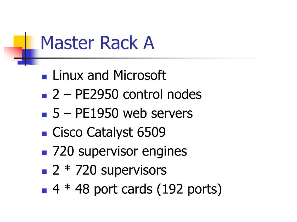 Master Rack A
