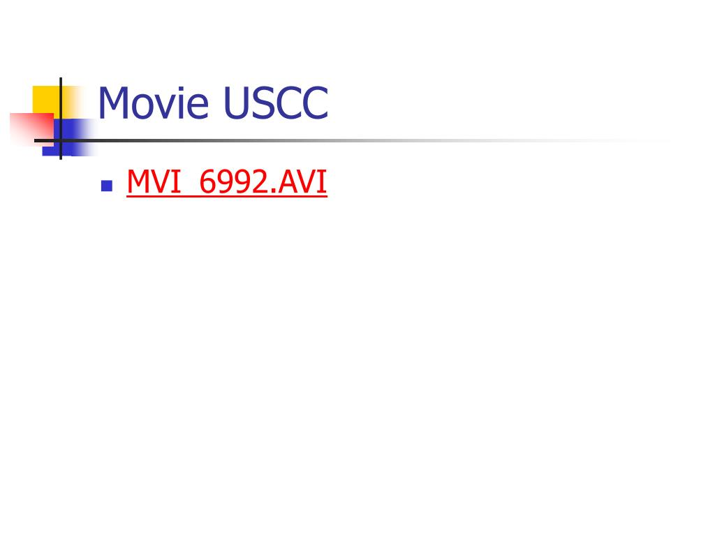 Movie USCC