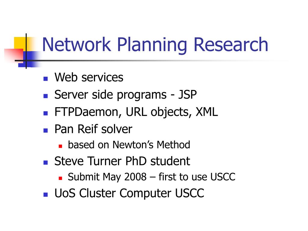 Network Planning Research