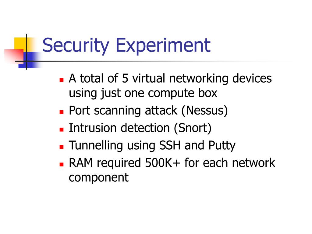 Security Experiment