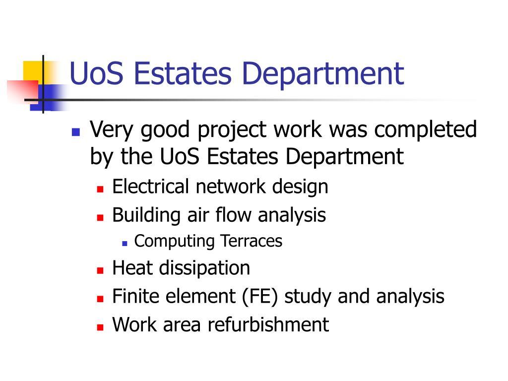 UoS Estates Department