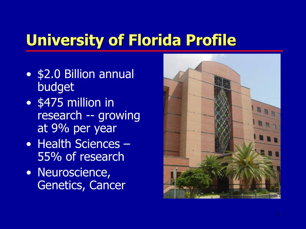 University of Florida Profile