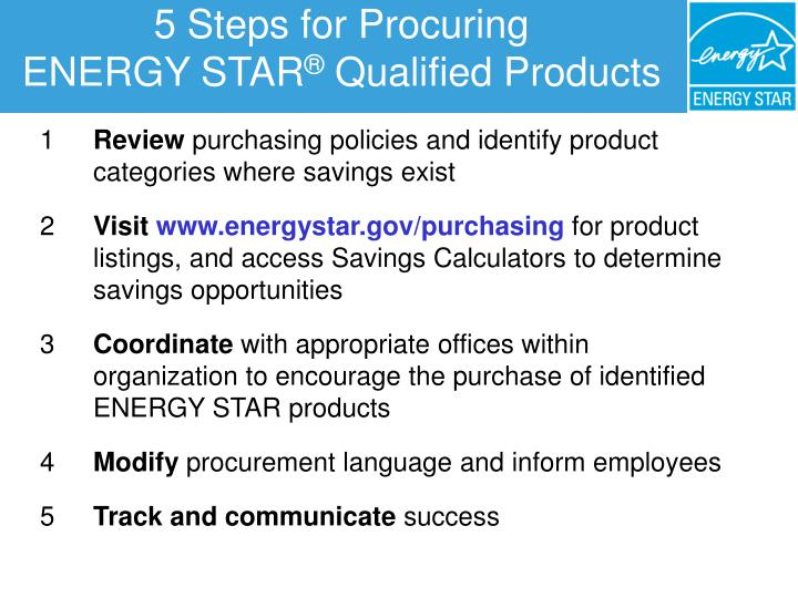 5 Steps for Procuring