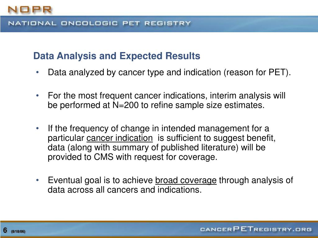 Data Analysis and Expected Results