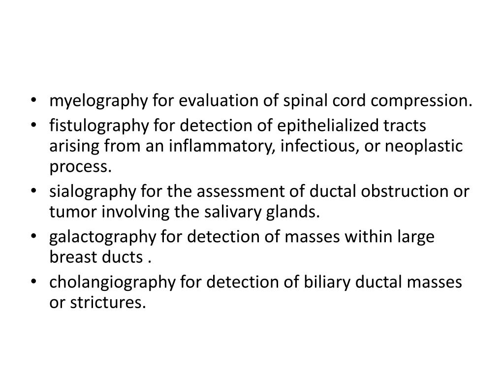myelography