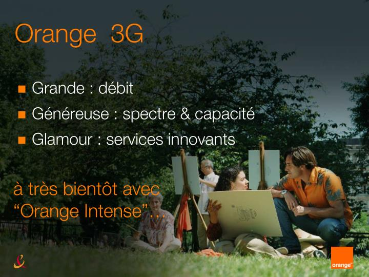 Orange  3G