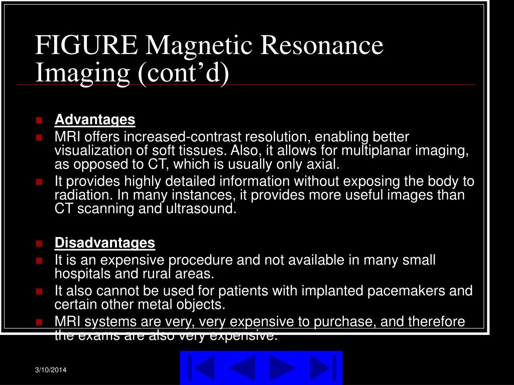 FIGURE Magnetic Resonance Imaging (cont'd)