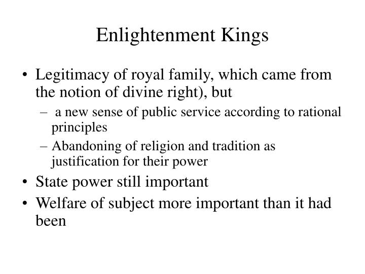 Enlightenment Kings