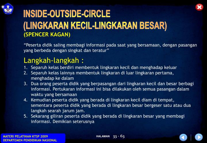 INSIDE-OUTSIDE-CIRCLE