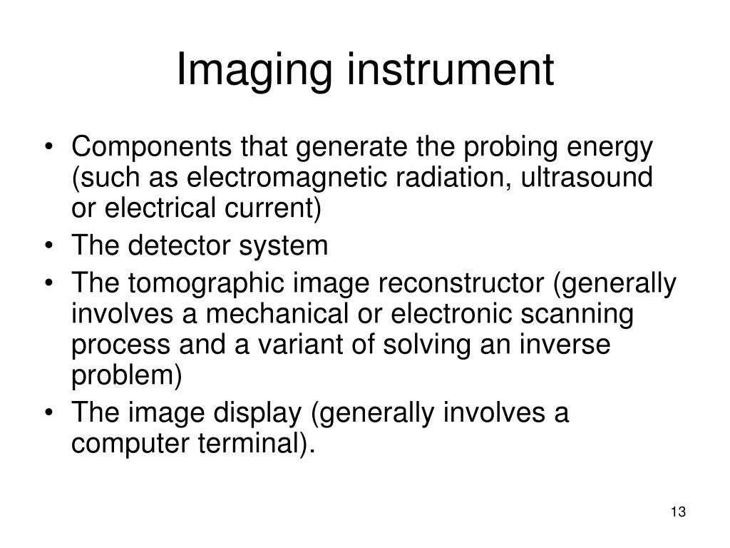 Imaging instrument