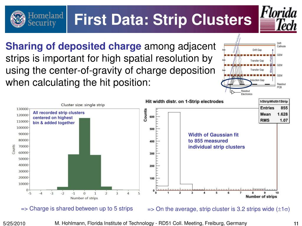 First Data: Strip Clusters