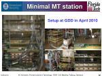 minimal mt station32