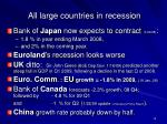 all large countries in recession