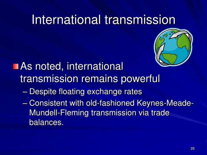 International transmission