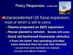 policy responses continued1
