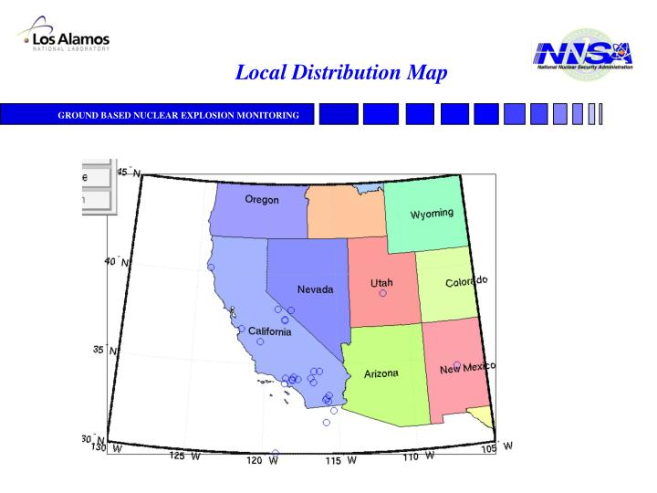 Local Distribution Map