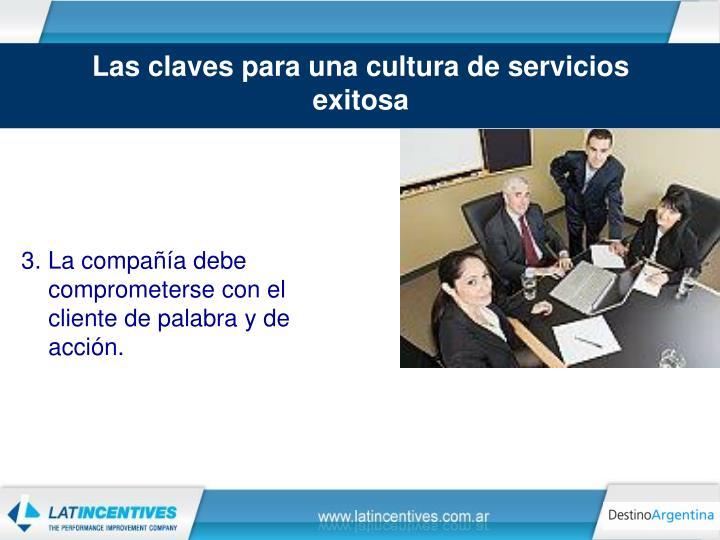 Las claves para una cultura de servicios exitosa