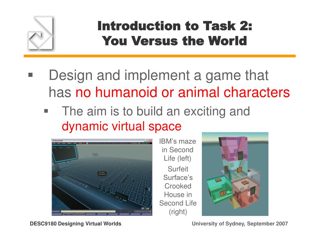 Introduction to Task 2:
