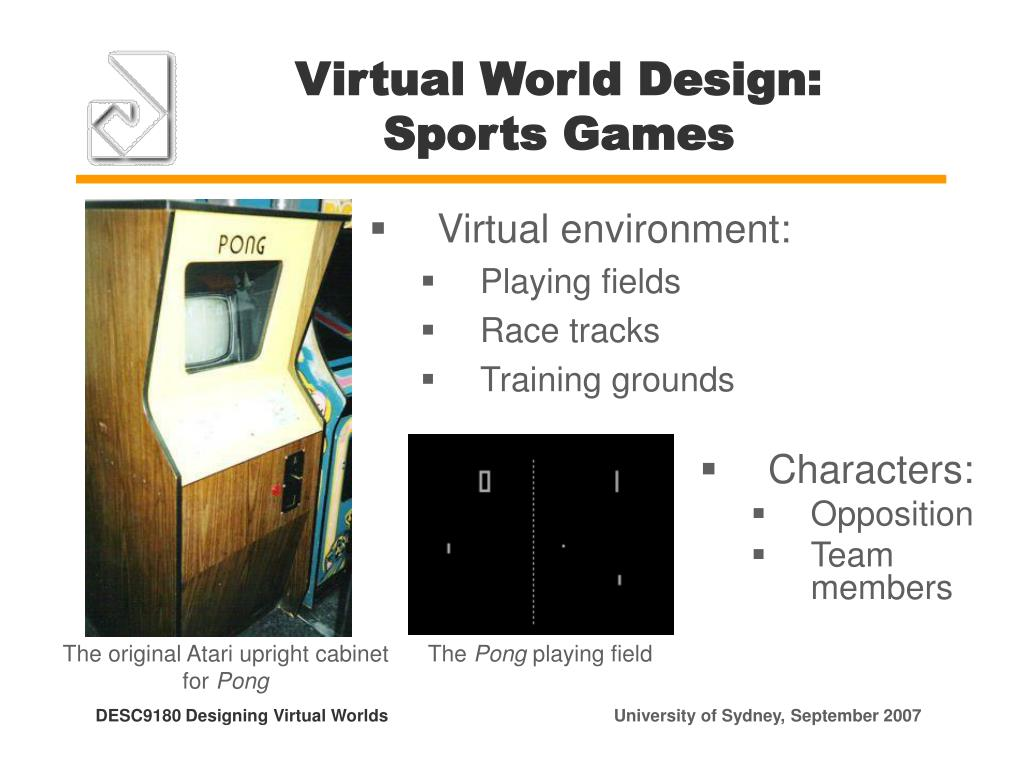 Virtual World Design: