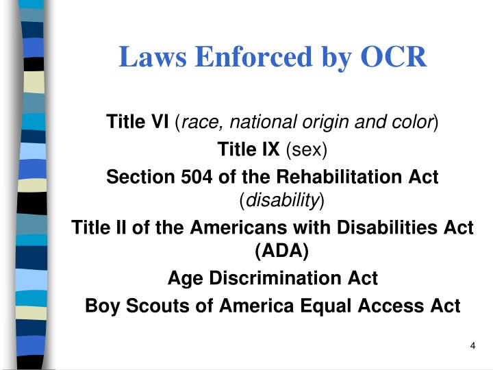 an analysis of the american with disabilities act in american civil rights The americans with disabilities act (ada) became law in 1990 the ada is a civil rights law that prohibits discrimination against individuals with disabilities in all areas of public life, including jobs, schools, transportation, and all public and private places that are open to the general public.