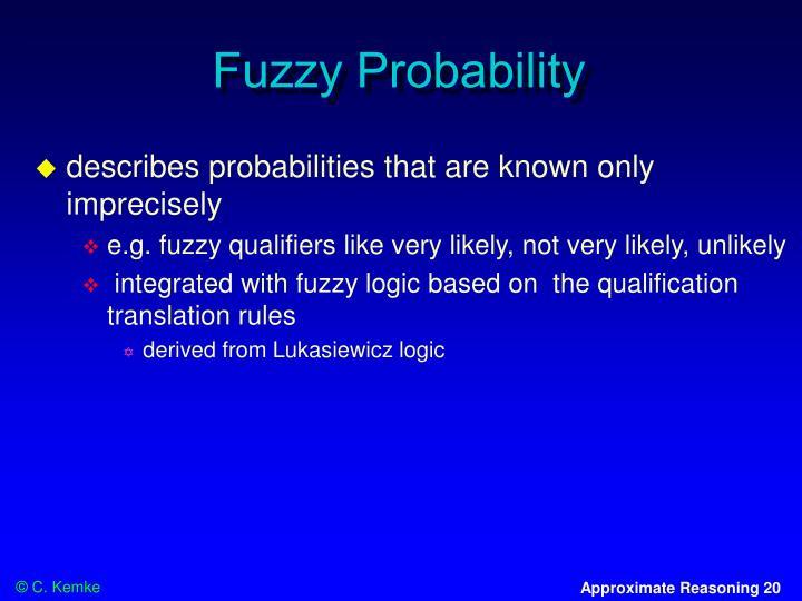 Fuzzy Probability