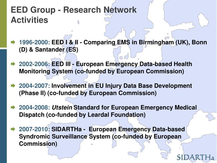 EED Group - Research Network