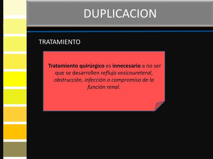 DUPLICACION