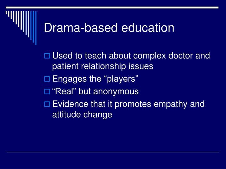 Drama-based education