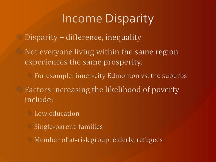 Income Disparity