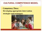 cultural competence model2