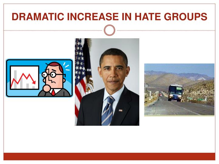 DRAMATIC INCREASE IN HATE GROUPS