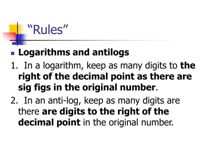 """Rules"""