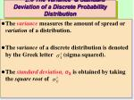 2 6 the variance standard deviation of a discrete probability distribution