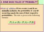 6 some basic rules of probability