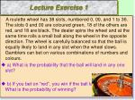 lecture exercise 1