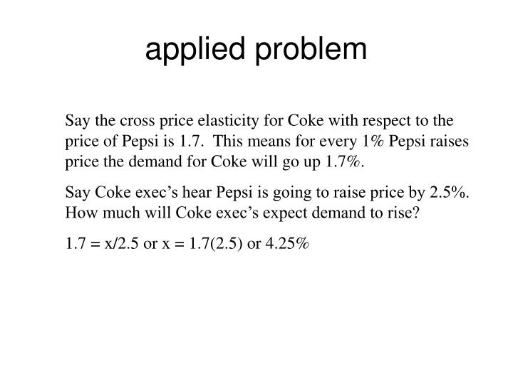 applied problem