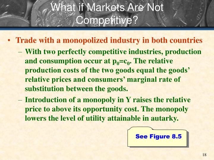 What if Markets Are Not Competitive?
