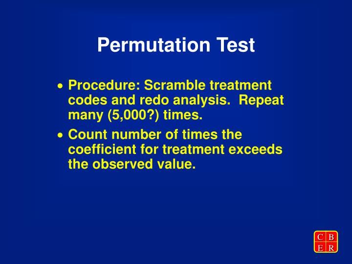 Permutation Test