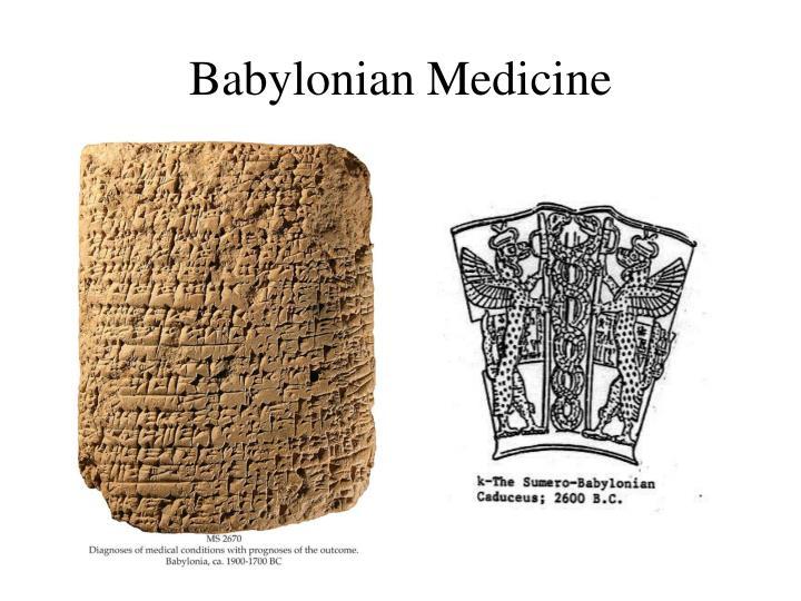 Babylonian Medicine