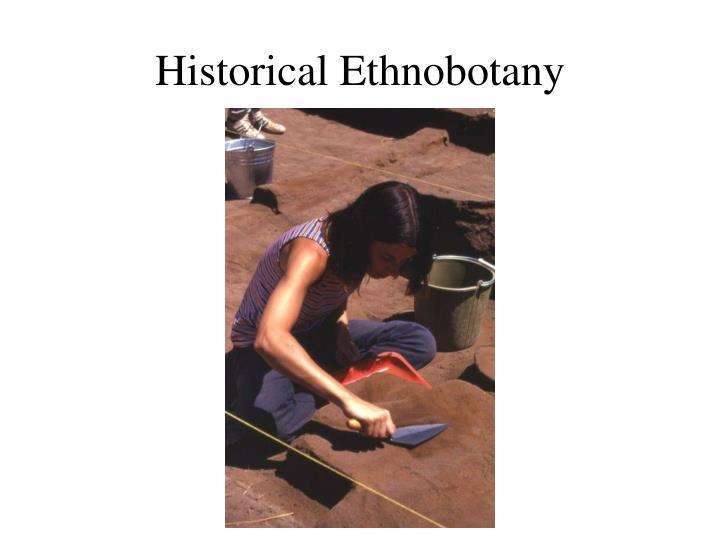 Historical Ethnobotany