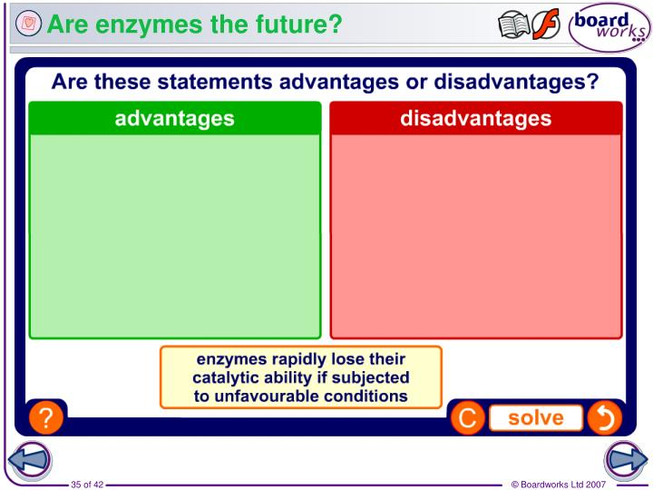 Are enzymes the future?