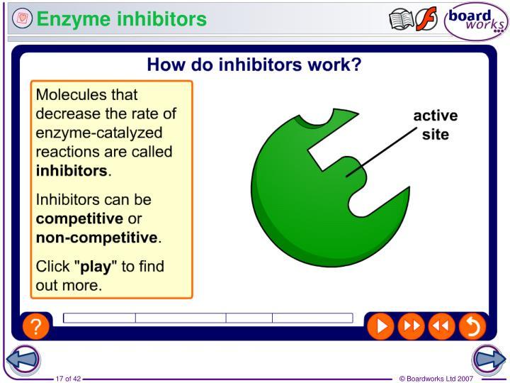 Enzyme inhibitors