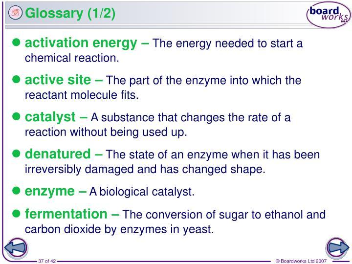 Glossary (1/2)