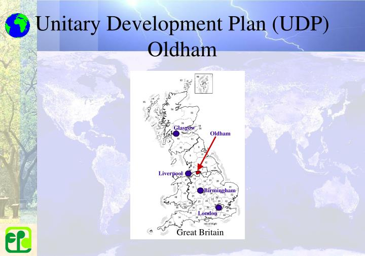 Unitary Development Plan (UDP) Oldham