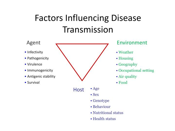 Factors Influencing Disease Transmission
