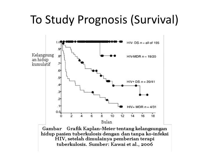 To Study Prognosis (Survival)