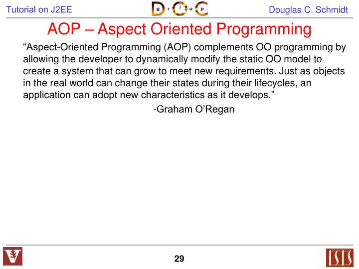 AOP – Aspect Oriented Programming